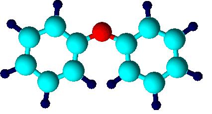 молекула дифениловый эфир