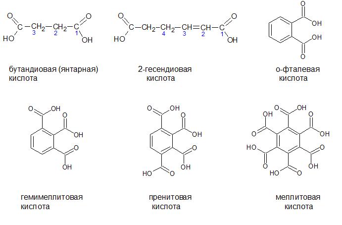 Двухосновные кислоты